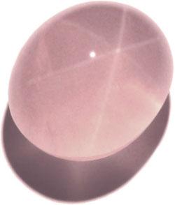 quartz rose etoile